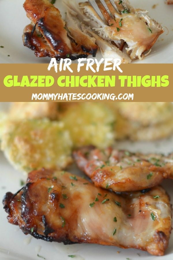 Air Fryer Glazed Chicken Thighs #AirFryer #GlutenFree