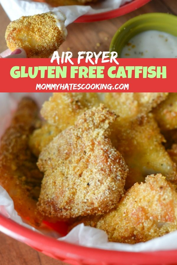 Easy Air Fryer Catfish