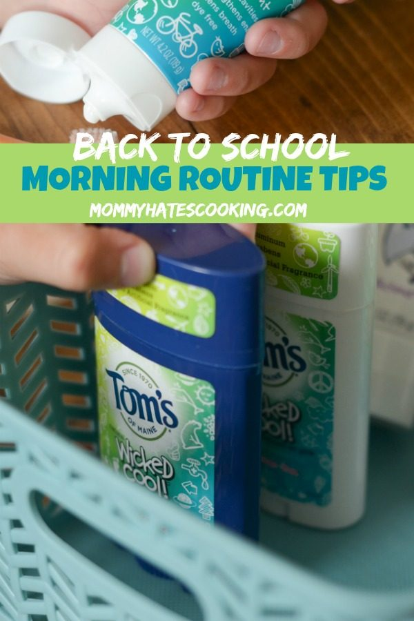 Create a Back to School Morning Routine