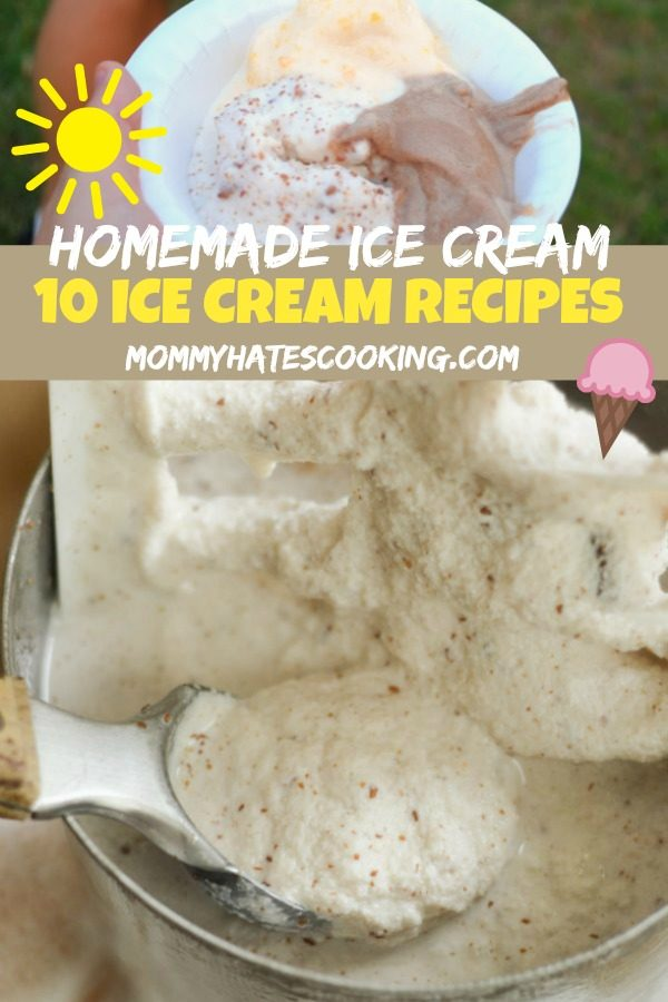 10 Easy Homemade Ice Cream Recipes