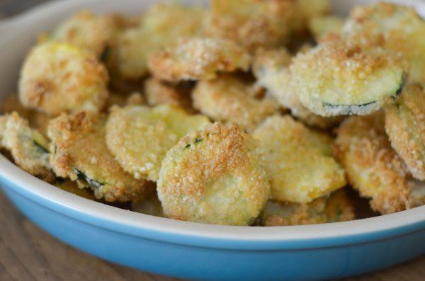 Air Fryer Fried Zucchini & Yellow Squash