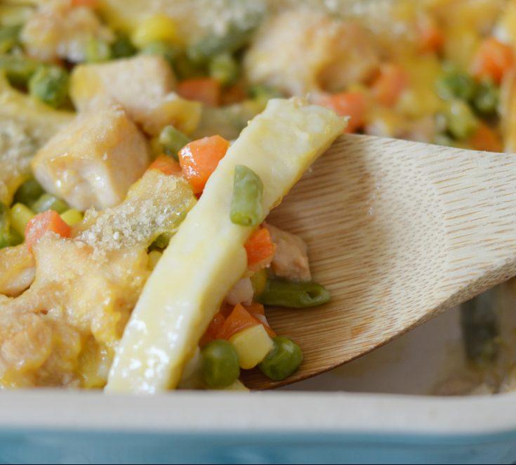 Gluten Free Chicken Noodle Casserole