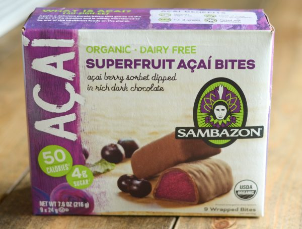 Satisfy Cravings with Sambazon Superfruit Bites