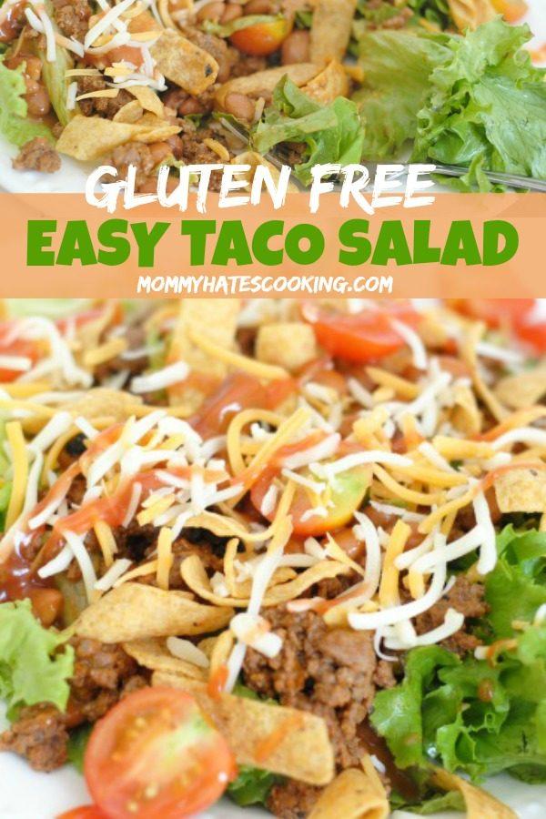 Gluten-Free Easy Taco Salad