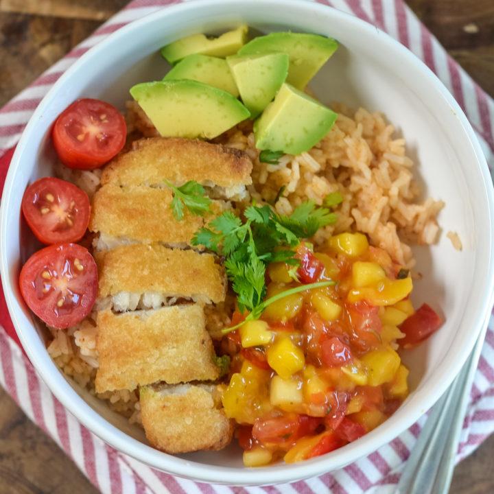 30 Minute Fish Taco Bowls