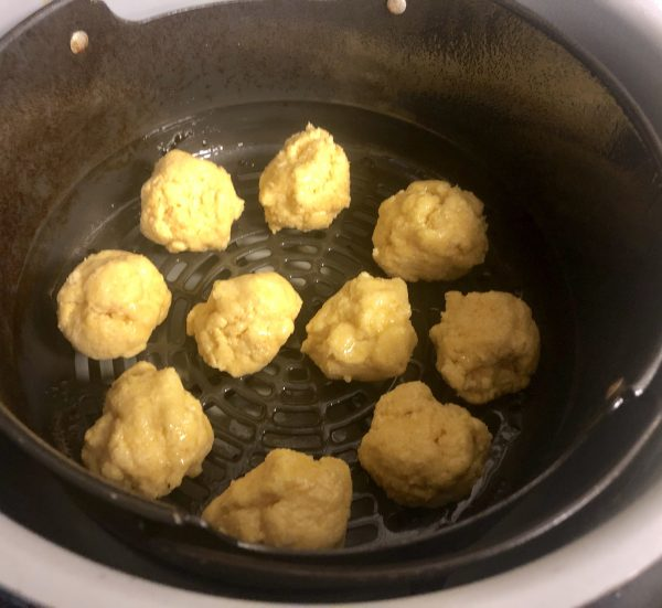 Air Fryer Hush Puppies