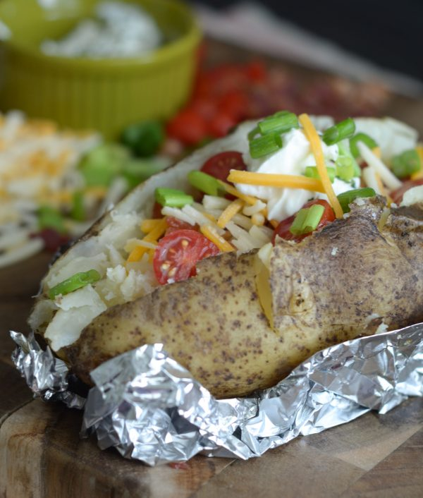 Air Fryer Baked Potato Recipe