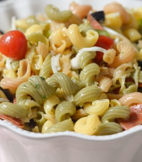 Gluten Free Easy Cold Pasta Salad