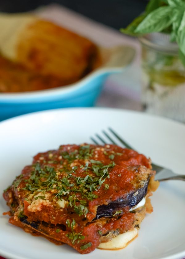 Gluten Free Eggplant Parmigiana