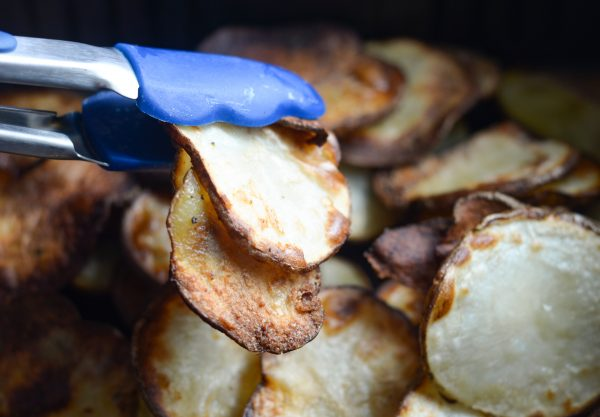 air fryer potato chips