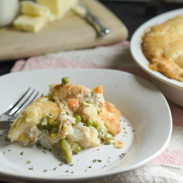 Gluten Free Creamy Chicken Pot Pie