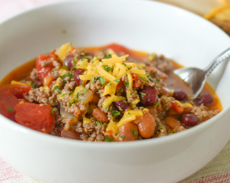 Instant Pot Hearty Bean Chili
