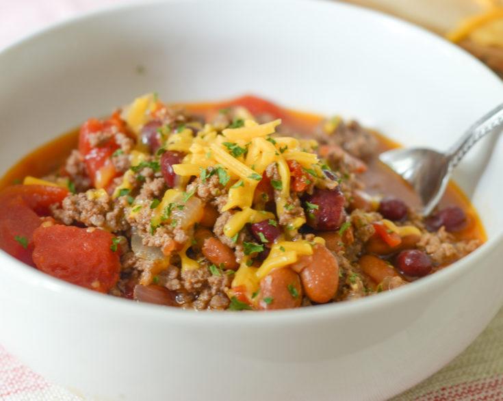 Instant Pot Hearty Bean Chili (Ninja Foodi)
