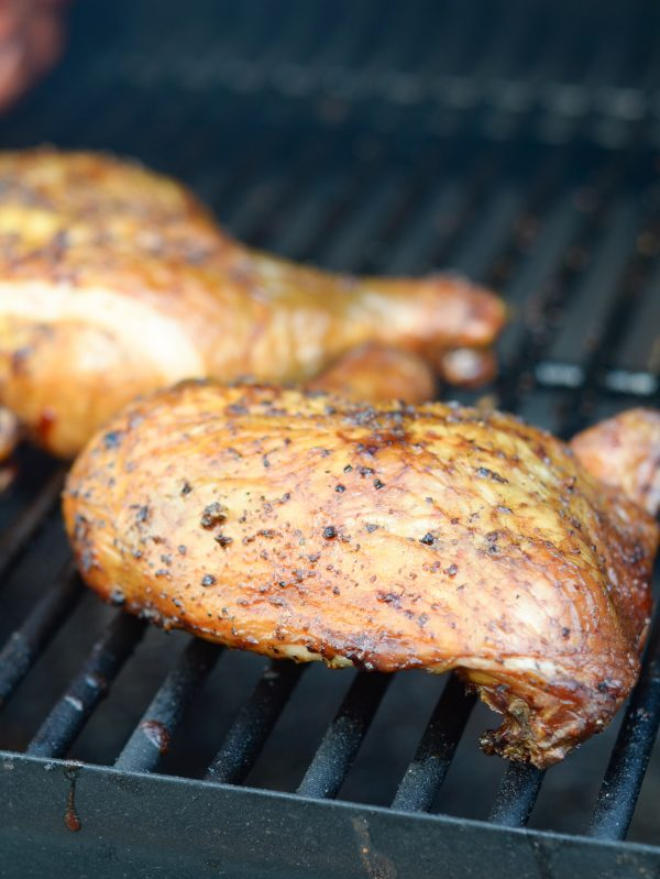 How to Smoke Chicken Quarters