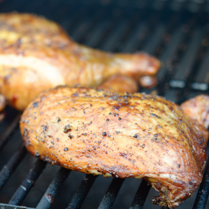 Smoked Chicken Quarters