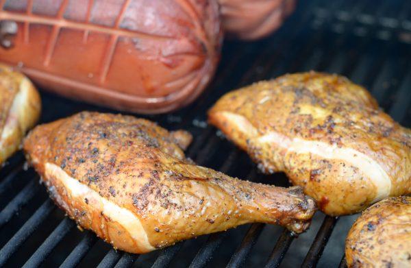 How to Smoke Chicken Quarters