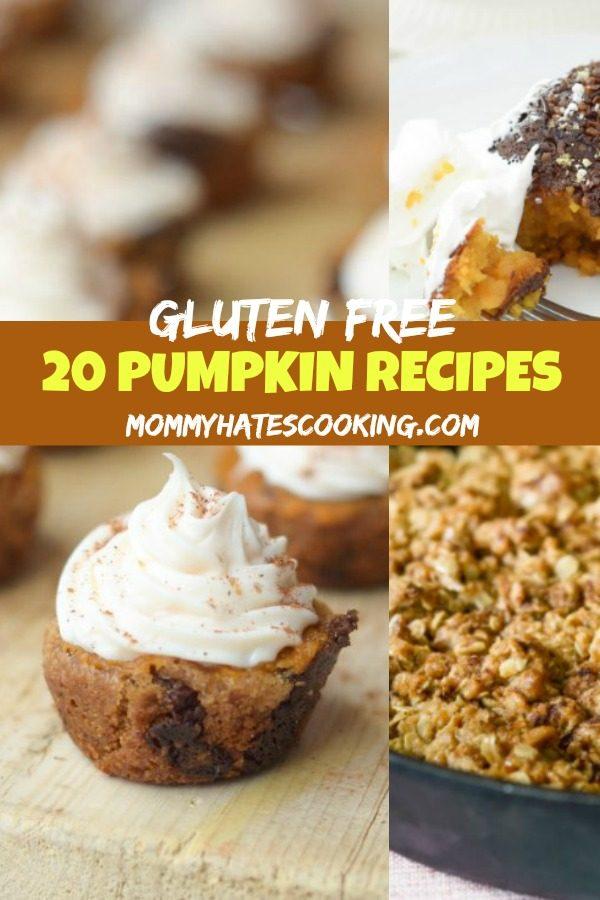 20 Gluten Free Pumpkin Recipes #GlutenFree