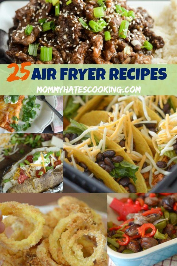 25 Air Fryer Recipes #AirFryer #GlutenFree
