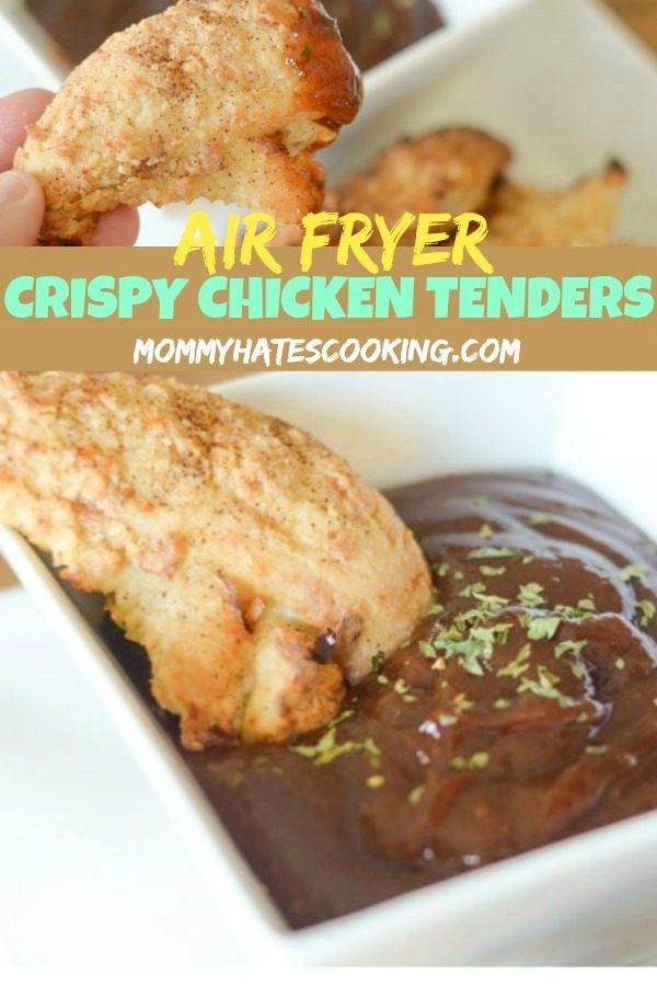 Air Fryer Chicken Tenders #GlutenFree #AirFryer