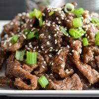 Air Fryer Korean BBQ Beef