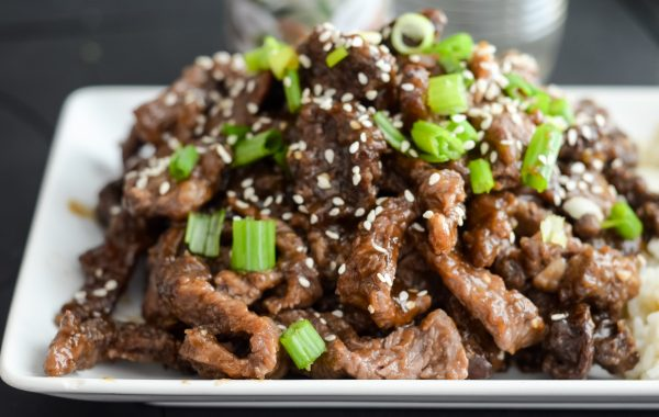 Air Fryer Korean BBQ Beef