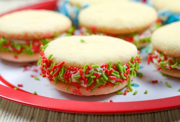 Sugar Cookie Whoopie Pies
