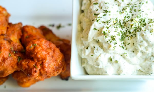 Game Day Frank's Redhot Wings & Dill Dip #FranklyDeliciousWings #AD