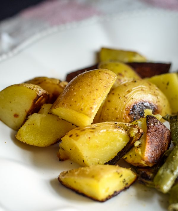 Sheet Pan Mini Meatloaf & Vegetables Recipe