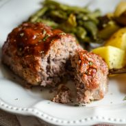 Sheet Pan Mini Meatloaf and Vegetables Recipe