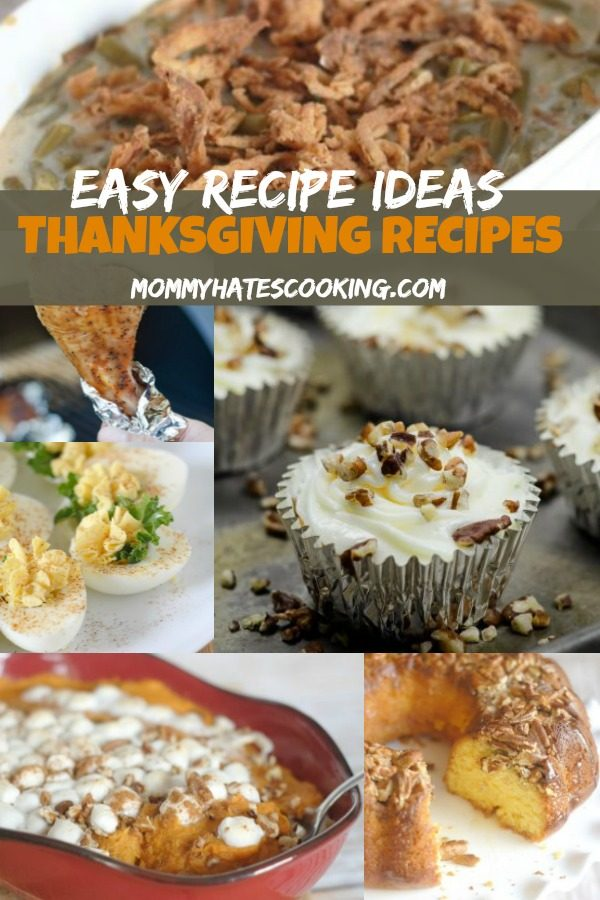 Easy Recipe Ideas - Thanksgiving Recipes