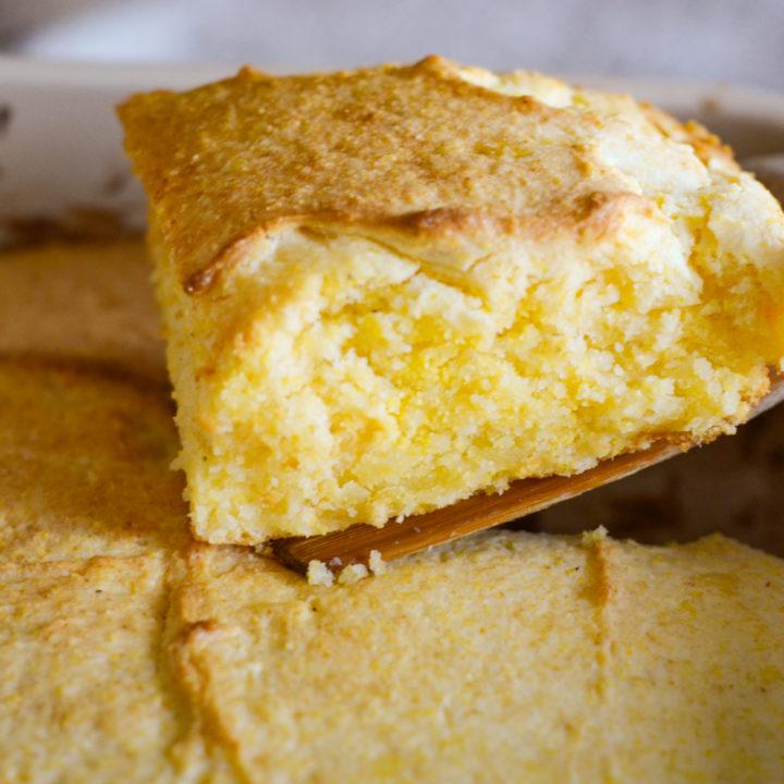 Gluten Free Homemade Cornbread