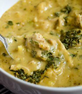 Instant Pot Creamy Chicken & Broccoli Soup