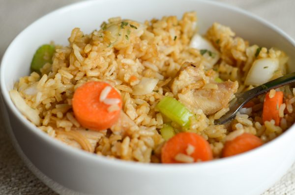 Gluten Free Air Fryer Chicken Fried Rice Air Fryer Fanatics
