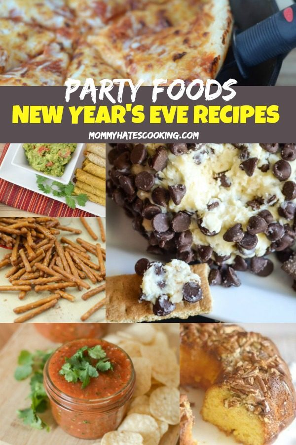 50 New Year's Eve Party Recipe Ideas