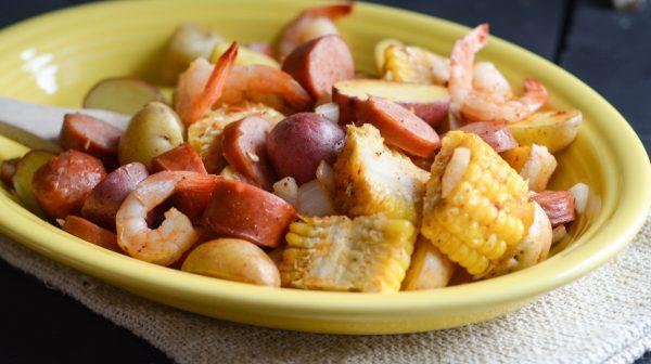 Air fryer cajun shrimp