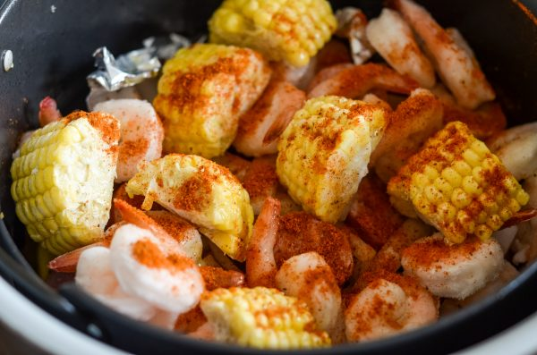 air fryer cajun shrimp
