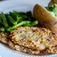 Gluten-Free Air Fryer Ranch Breaded Pork Chops