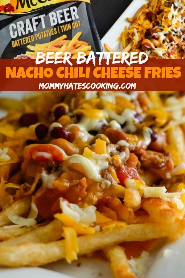 Nacho Chili Cheese Fries