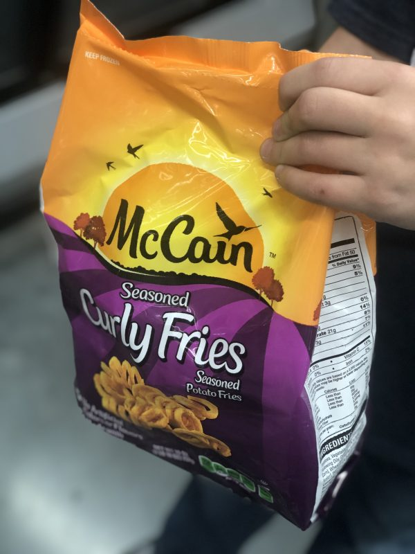McCain Seasoned Curly Fries