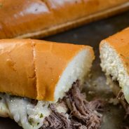 Best Juicy Slow Cooker French Dip Sandwiches