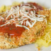 Gluten-Free Air Fryer Chicken Parmesan