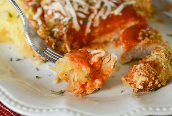Gluten-Free Air Fryer Chicken Parmesan