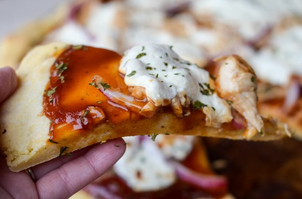 Gluten-Free BBQ Chicken Pizza