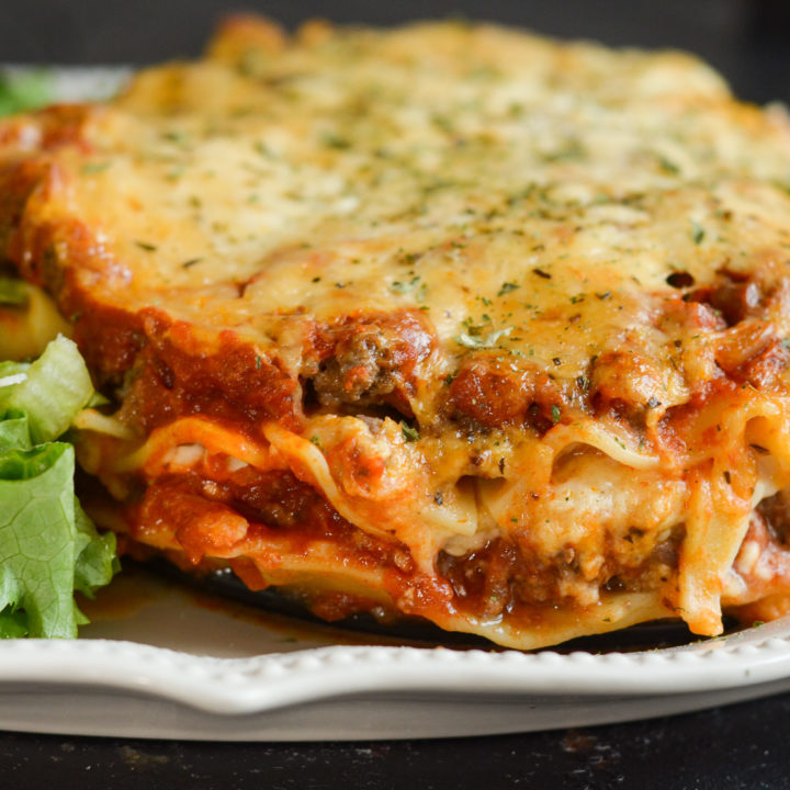 Gluten-Free Pressure Cooker Lasagna