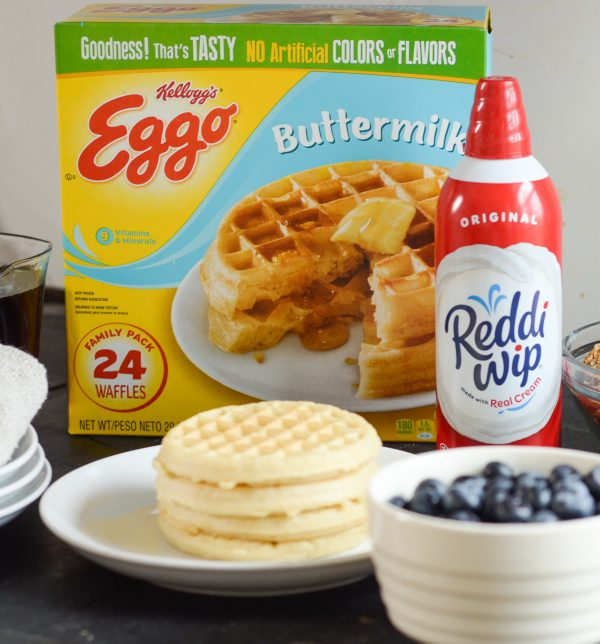 Quick and Easy Waffle Bar