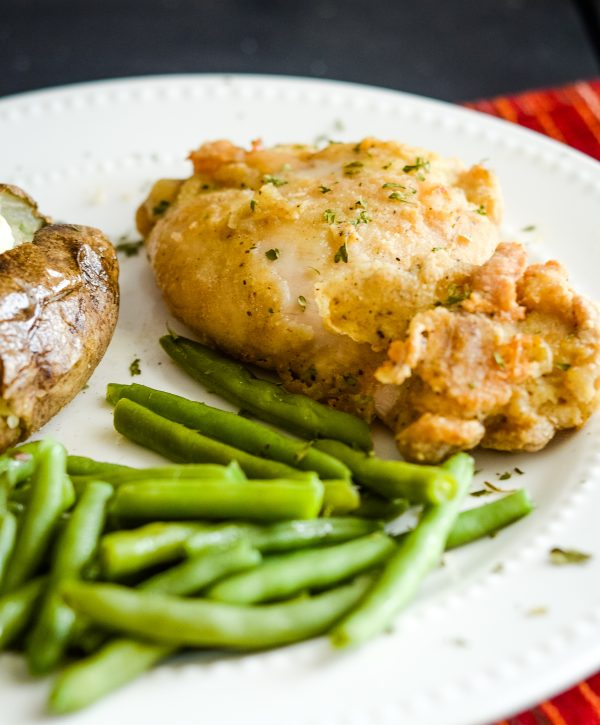 gluten-free air fried chicken