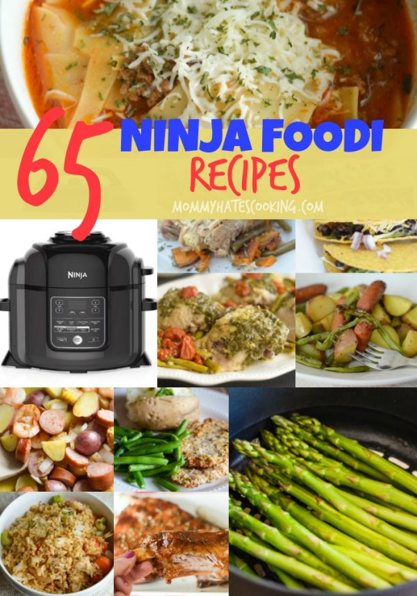 65 Easy Ninja Foodi Recipes - Mommy Hates Cooking
