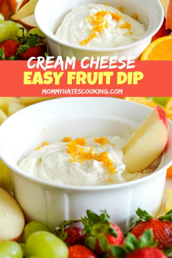 Cream Cheese Fruit Dip