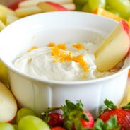Quick and Easy Cream Cheese Fruit Dip