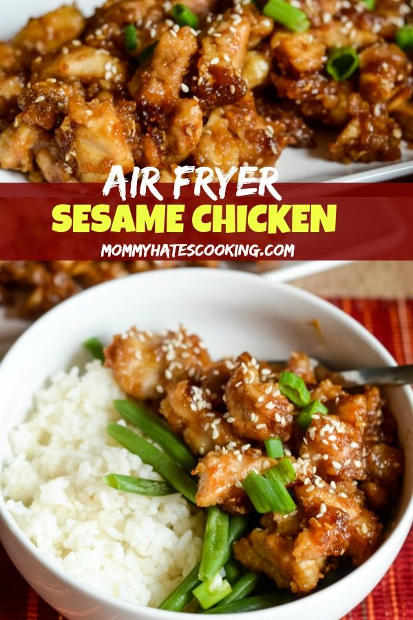 Air Fryer Sesame Chicken Mommy Hates Cooking